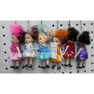 Подвеска маленькая кукла