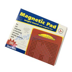 Планшет магнитный обучающий «Магнитное рисование», 380 отверстий
