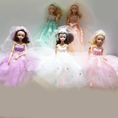 Кукла невеста ABCDEF (6  в 1)