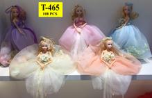 Кукла невеста 5 цветов