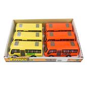 Пластмассовые игрушечные автобусы