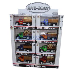 Инерционная металлическая машина грузовик Die-cast