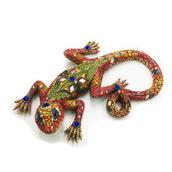 Декоративная статуэтка ящерица