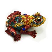 Декоративная статуэтка лягушка